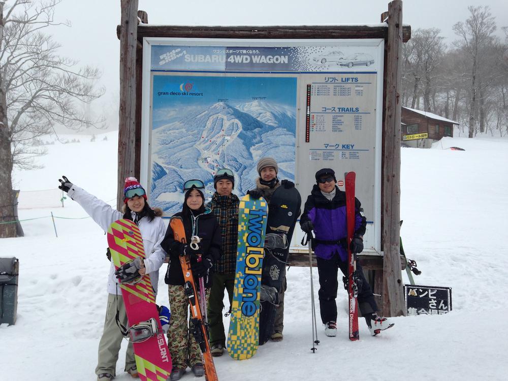 冬合宿スキー